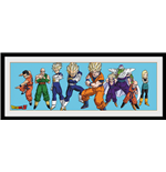 Dragon Ball Z - Heroes (Stampa In Cornice 75x30 Cm)