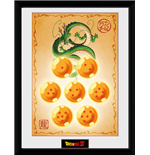 Dragon Ball Z - Dragon Balls (Stampa In Cornice 30x40 Cm)