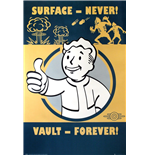 Poster Fallout 4 - Vault Forever 61x91,5 Cm