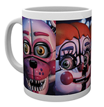 Five Nights At Freddys - Sister Location Faces (Tazza)