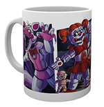 Five Nights At Freddys - Sister Location Characters (Tazza)