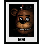 Five Nights At Freddys - Fazbear (Stampa In Cornice 30x40 Cm)
