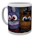 Five Nights At Freddys - Faces (Tazza)