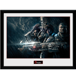 Gears Of War 4 - Landscape (Stampa In Cornice 30x40 Cm)