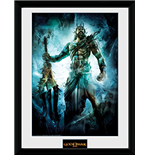 God Of War - Poseidon (Stampa In Cornice 30x40 Cm)