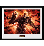 God Of War - Ares (Stampa In Cornice 30x40 Cm)