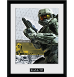 Halo 5 - Spartan (Stampa In Cornice 30x40 Cm)