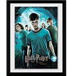 Harry Potter 4 - Main (Stampa In Cornice 15x20 Cm)