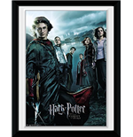 Harry Potter 3 - Main (Stampa In Cornice 15x20 Cm)