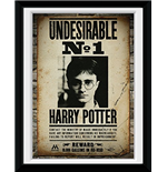 Harry Potter - Undesirable No 1 (Stampa In Cornice 15x20 Cm)