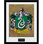 Harry Potter - Slytherin (Stampa In Cornice 30x40 Cm)