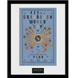Harry Potter - Quidditch World Cup 2 (Stampa In Cornice 30x40 Cm)