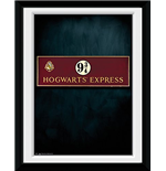 Harry Potter - Platform 9 3/4 (Stampa In Cornice 15x20 Cm)