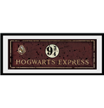 Harry Potter - Hogwarts Express (Stampa In Cornice 75x30 Cm)