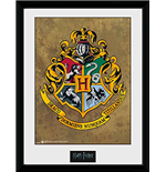 Harry Potter - Hogwarts (Stampa In Cornice 30x40 Cm)