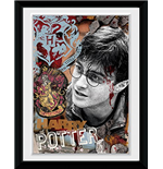 Harry Potter - Harry (Stampa In Cornice 15x20 Cm)