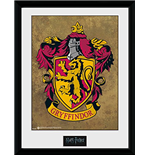 Harry Potter - Gryffindor (Stampa In Cornice 30x40 Cm)