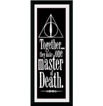 Harry Potter - Deathly Hallows (Stampa In Cornice 75x30 Cm)