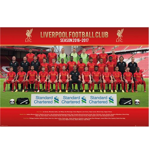 Liverpool - Team Photo 16/17 (Poster Maxi 61x91,5 Cm)