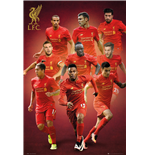 Poster Liverpool - Players 16/17 - 61x91,5 Cm