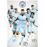 Manchester City - Players 16/17 (Poster Maxi 61x91,5 Cm)