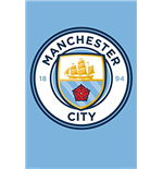 Manchester City - Club Crest (Poster Maxi 61x91,5 Cm)