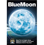 Manchester City - Blue Moon 2014 (Poster Maxi 61x91,5 Cm)