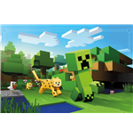 Minecraft - Ocelot Chase (Poster Maxi 61x91,5 Cm)