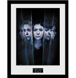 Orphan Black - Faces (Stampa In Cornice 30x40 Cm)