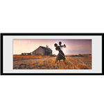 Pink Floyd - Dancers (Stampa In Cornice 75x30 Cm)