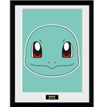 Pokemon - Squirtle Face (Stampa In Cornice 30x40 Cm)