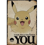 Pokemon - Pikachu Needs You (Poster Maxi 61x91,5 Cm)