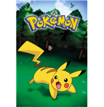Pokemon - Pikachu Catch (Poster Maxi 61x91,5 Cm)