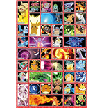 Pokemon - Moves (61 X 91.5 Cm) (Maxi Poster)