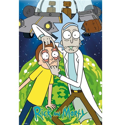 Poster Rick And Morty - Ship - 61x91,5 Cm
