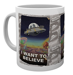 Rick And Morty - I Want To Believe (Tazza)