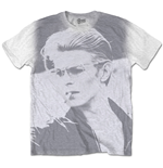 David Bowie Men's Tee: Wild Profile