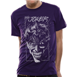 T-shirt Batman Purple Joker