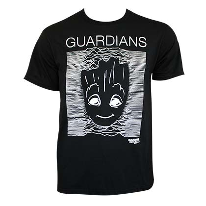 T-shirt Guardians of the Galaxy Groot Stripes