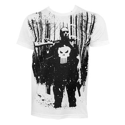 T-shirt The punisher Blizzard
