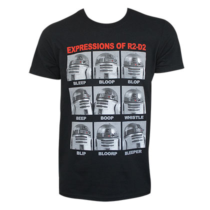 T-shirt Star Wars Expressions R2D2