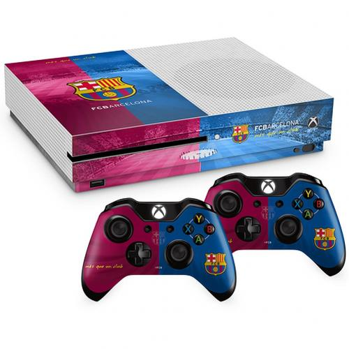 Skin Xbox One S Barcellona