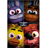 Five Night At Freddy's - Quad (Poster Maxi 61x91,5 Cm)