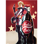 Fallout 4 - Nuka Cola (Poster Giant 100x140 Cm)