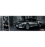 Ford Shelby - Mustang Gt500 (Poster Da Porta 53x158 Cm)