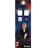 Doctor Who - Tardis And Doctor (Poster Da Porta 53x158 Cm)