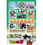 Dragon Ball Z - Infographic (Poster Maxi 61x91,5 Cm)