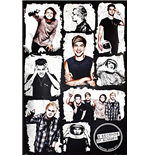 5 Seconds Of Summer - Grid (Poster Maxi 61x91,5 Cm)