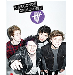 5 Seconds Of Summer - Single Cover (Poster Mini 40x50 Cm)