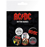 Ac/Dc - Mix (Badge Pack)